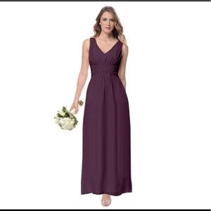 Dove & Dahlia Scarlett Bridesmaid Dress- Cabernet